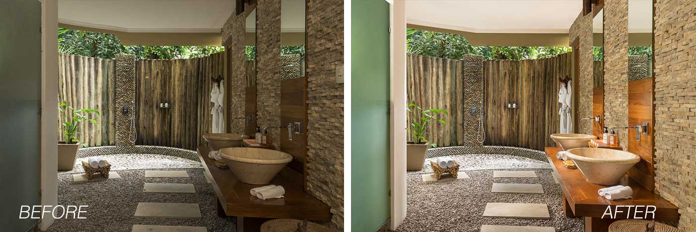 bathroom before after example